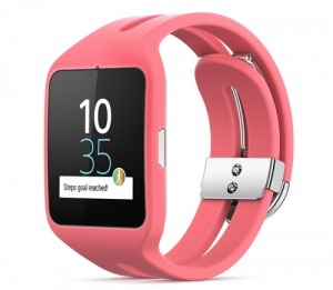 Sony-SmartWatch-3-rose