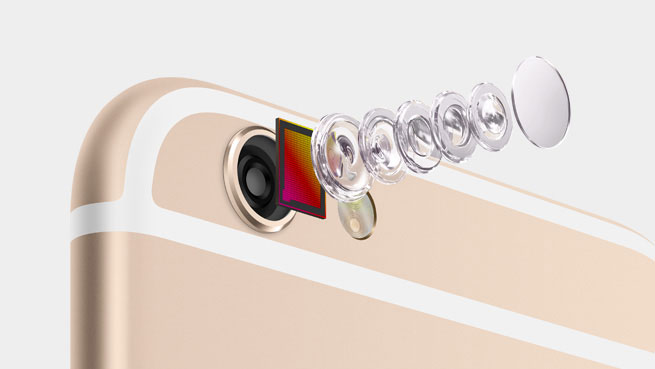 iPhone avec appareil photo deux lentilles