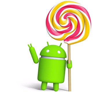 Android Lollipop mise à jour
