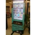 Bibliothèque borne numérique dans aéroport