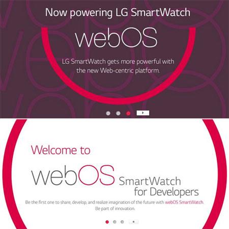 LG smartwatch webOS 20169