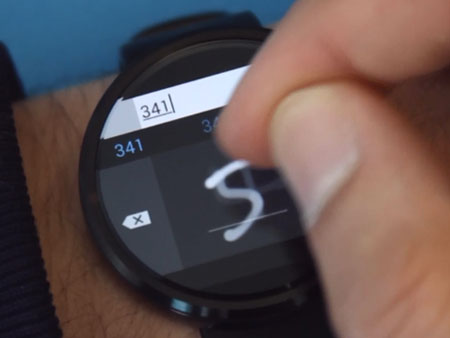 Microsoft Clavier Android Wear