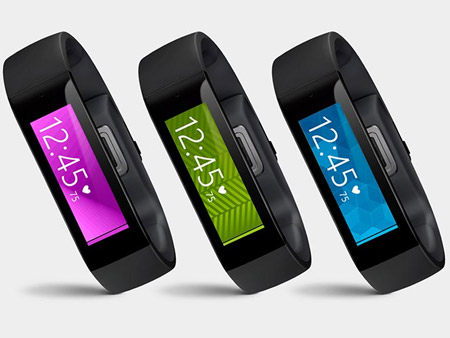 Microsoft Band bracelet connecté