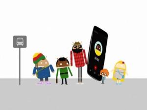 Nexus 6 dans pubs Google