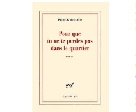 Patrick Modiano prix nobel ebooks IDBOOX