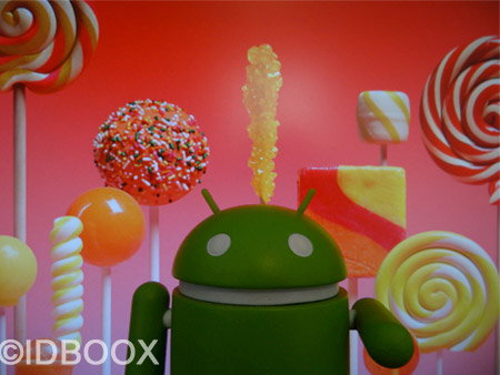 Google sort Android Lollipop 5.1