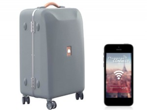 Delsey annonce la valise connectée