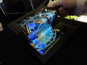 Smartphone du futur écran flexible