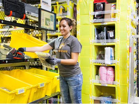 Amazon 15 000 emplois europe