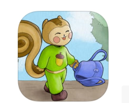 Curry ecureuil Appli enfants autisme dyslexie IDBOOX