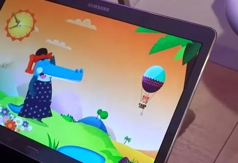 Mode enfants tablette samsung kids mode