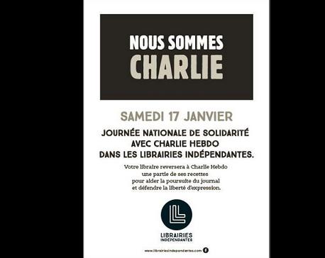 Charlie hebdo Librairies IDBOOX
