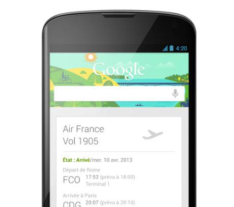 Google Now accueille 40 applis