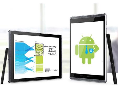 hp pro slate 8 et 12 deux tablettes avec un stylet tr s. Black Bedroom Furniture Sets. Home Design Ideas