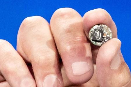Intel Curie bouton objets connectés
