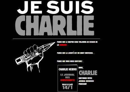 Charlie Hebdo 1 million d'exemplaires mercredi 14/1