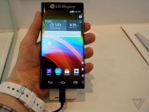 LG ecran flexible comme Galaxy Note Edge