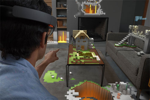 Microsoft HoloLenz en 2016