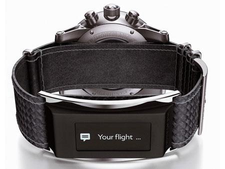Montblanc bracelet e-strap pour montre