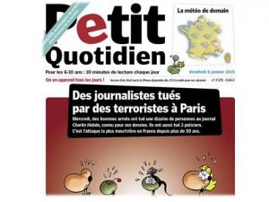 Petit quotidien Charlie Hebdo Enfants