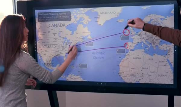 Microsoft Surface Hub dispo en France