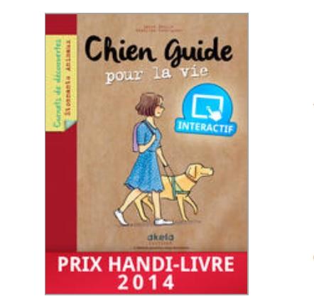 Chien guide pour la vie livre numerique interactif enfant IDBOOX