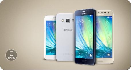 Galaxy A3 samsung smartphone promo IDBOOX