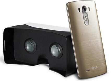 LG G3 casque de réalité virtuelle