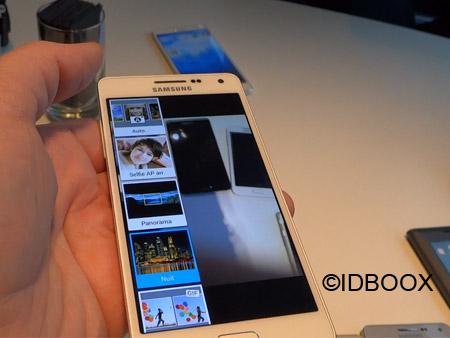 Samsung Galaxy A8 vidéo prise en main