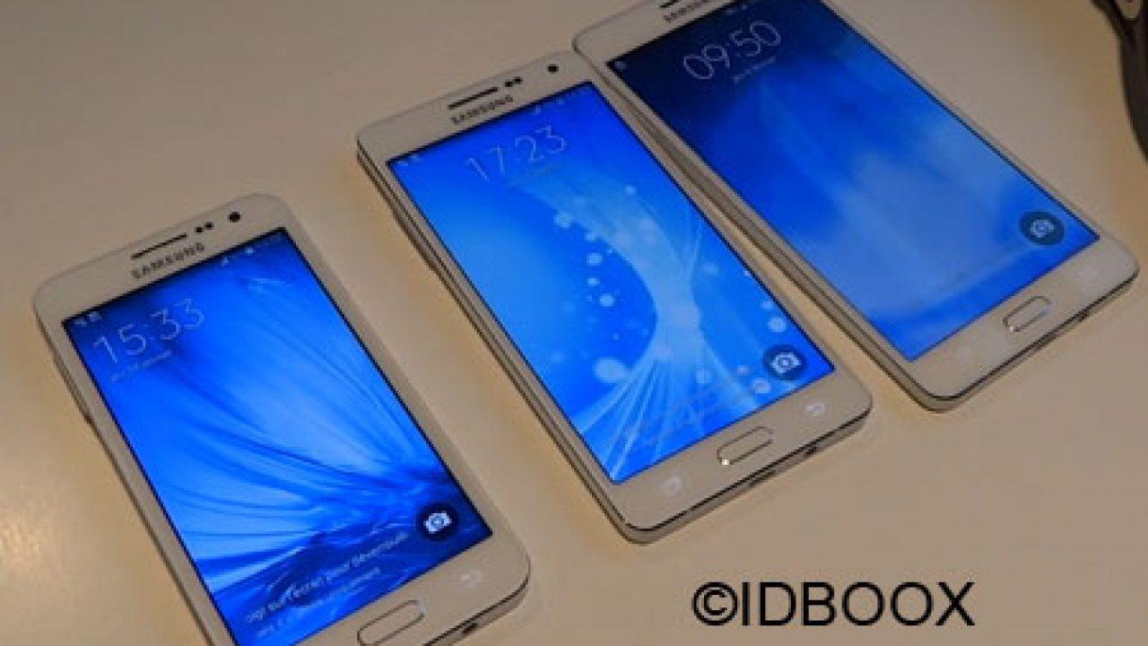 Découverte du Samsung Galaxy A5, A7, A3 vs Galaxy Alpha (vidéo ...