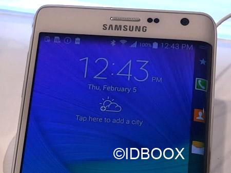 SAmsung Galaxy S6 Edge courbés des deux côtés
