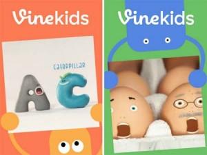 Vine Kids partage de vidéos pour enfants