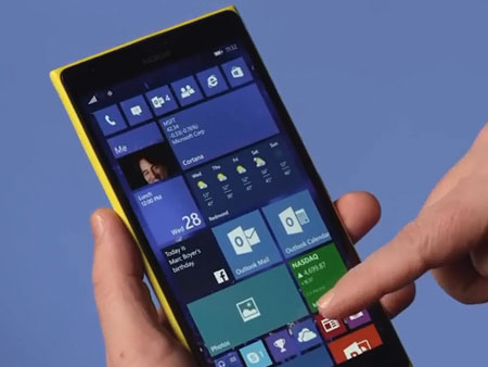 Windows 10 mobile la liste de smartphone s'allonge