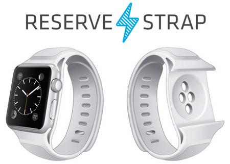 Apple Watch Reserve Strap autonomie