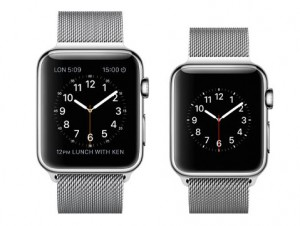 Apple Watch pas avant juin