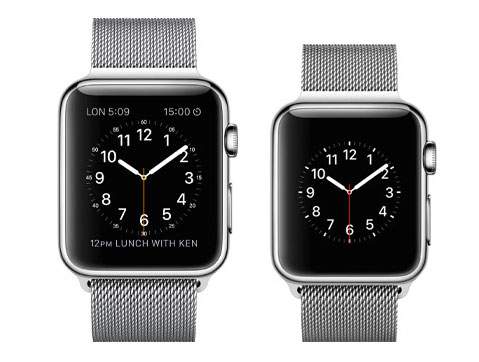 Apple Watch les ventes en baisse