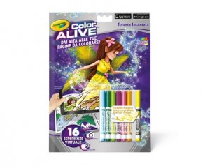 Crayola color alive cahier de coloriage anime