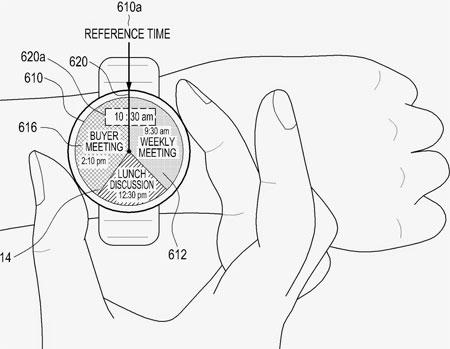 Samsung Gear A smartwatch ronde