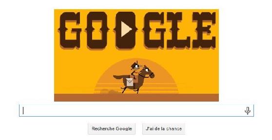 Doodle Google Pony Express