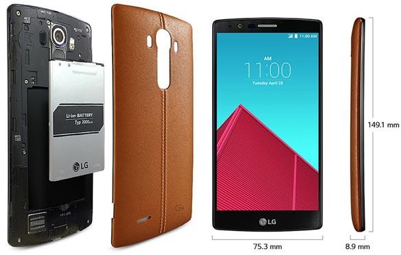 bon plan vente flash lg g4 smartphone cuir idboox. Black Bedroom Furniture Sets. Home Design Ideas