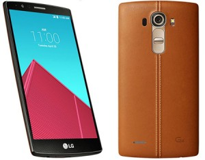 LG G4 images officielles dévoilées