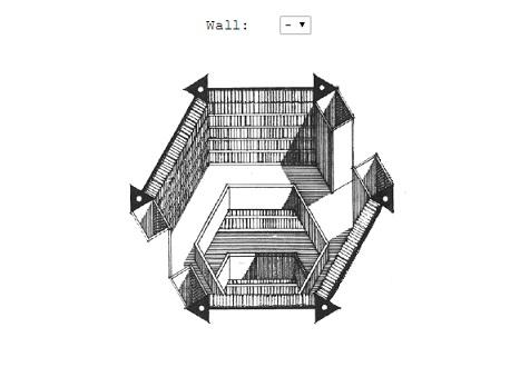 La bibliotheque de Babel de Jorge Luis Borges 1