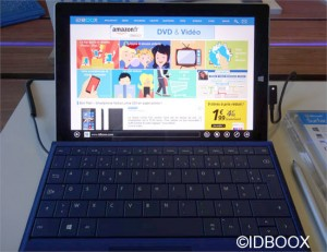 Microsoft Surface 3 disponible en france