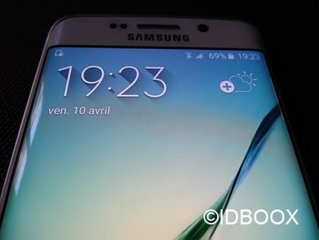 Samsung Galaxy S6 Edge prise en main
