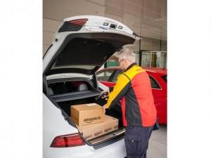 amazon livraison dans le coffre voiture