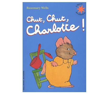 chut charlotte livre qui parle Gallimard