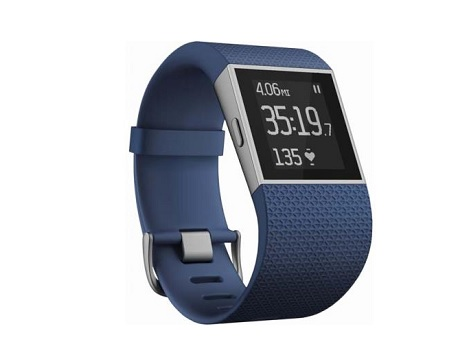 montre Fitbit Surge Tangerine promo