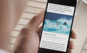 Facebook Instant Articles presse