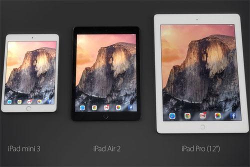 iPad Pro partage écran