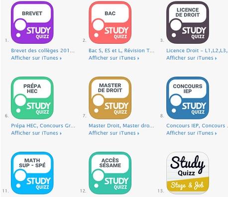study quizz application